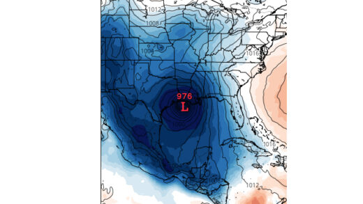 Gulf Coast Storm Brewing