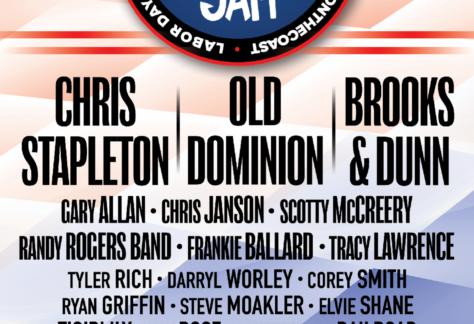 Chris Stapleton, Brooks & Dunn,  Old Dominion to Headline