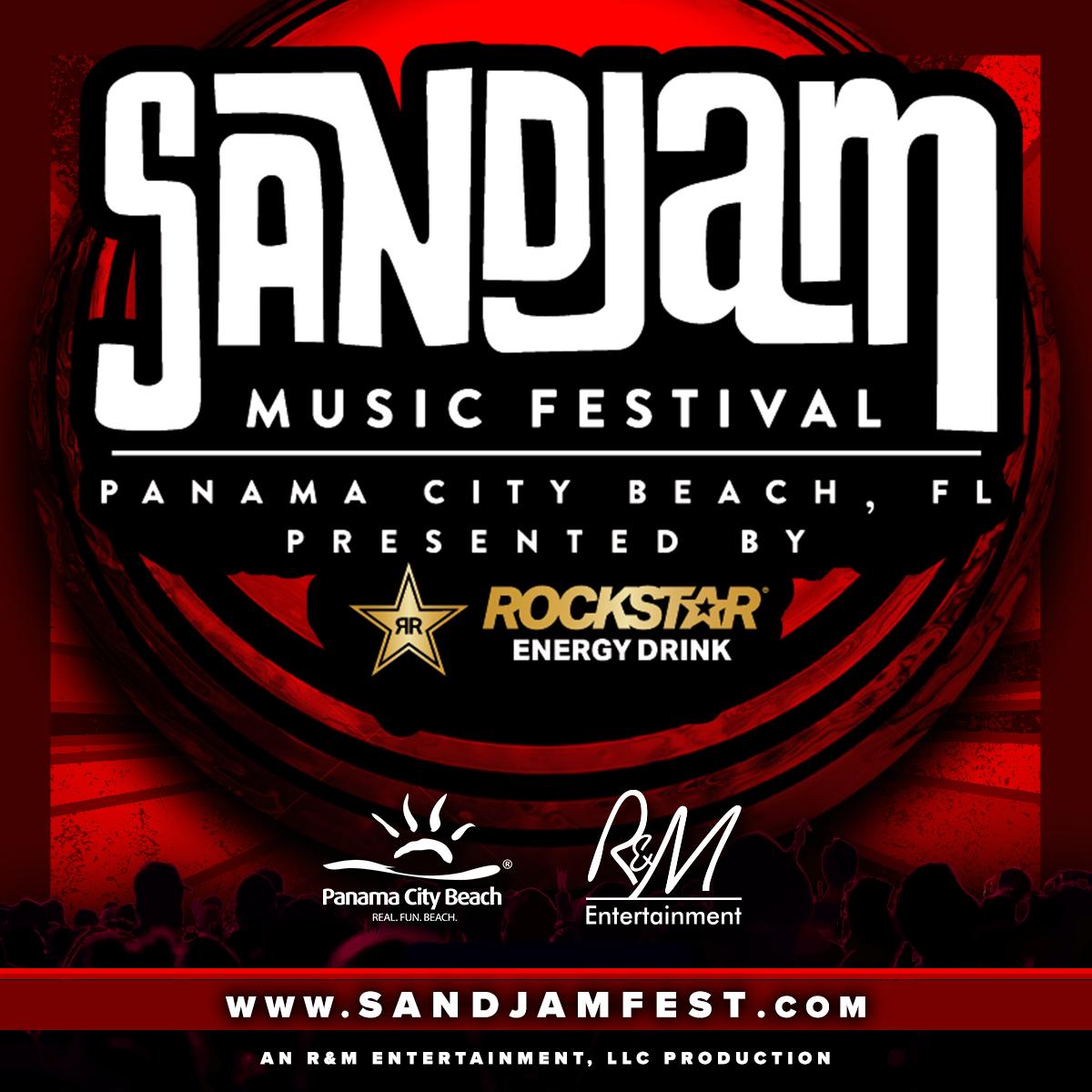 2021 SandJam Music Festival Presented by Rockstar Energy Drink Moving to 2022