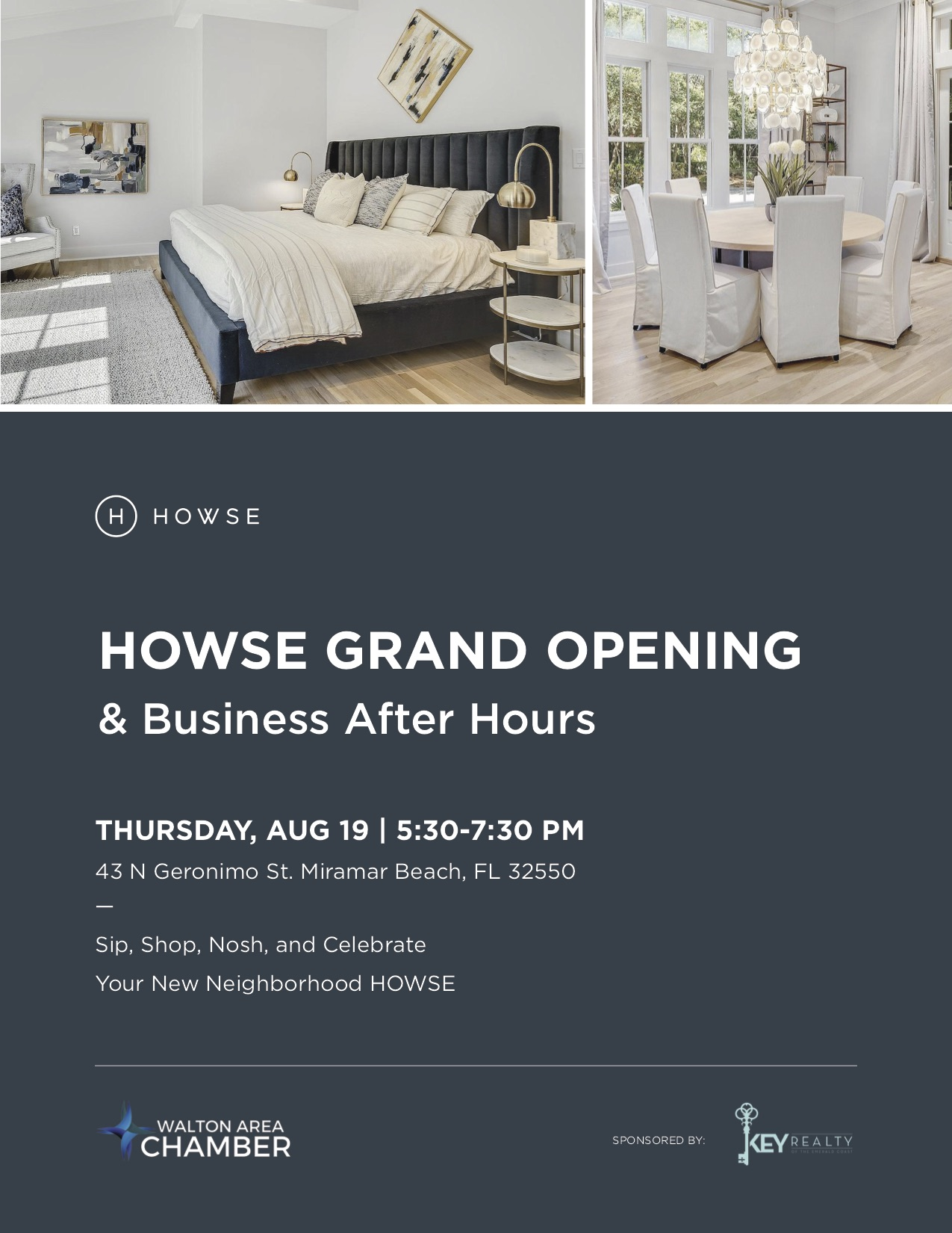 New Home Furnishings store, HOWSE, to Host Grand Opening of Miramar Beach Location
