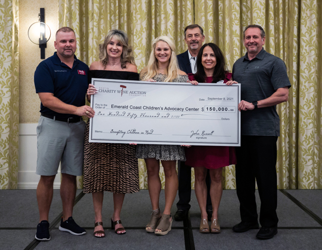 Destin Charity Wine Auction Foundation Makes Donation to ECCAC