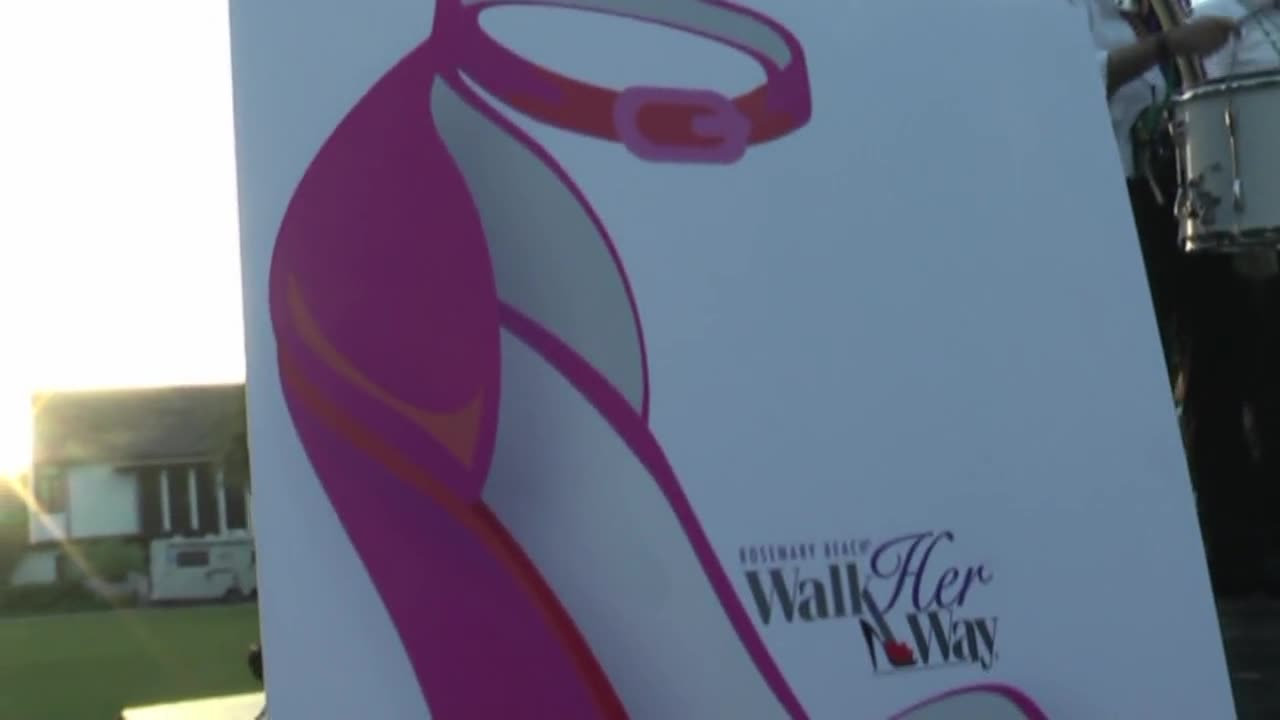 Walk Her Way Rosemary Beach Foundation Benefit