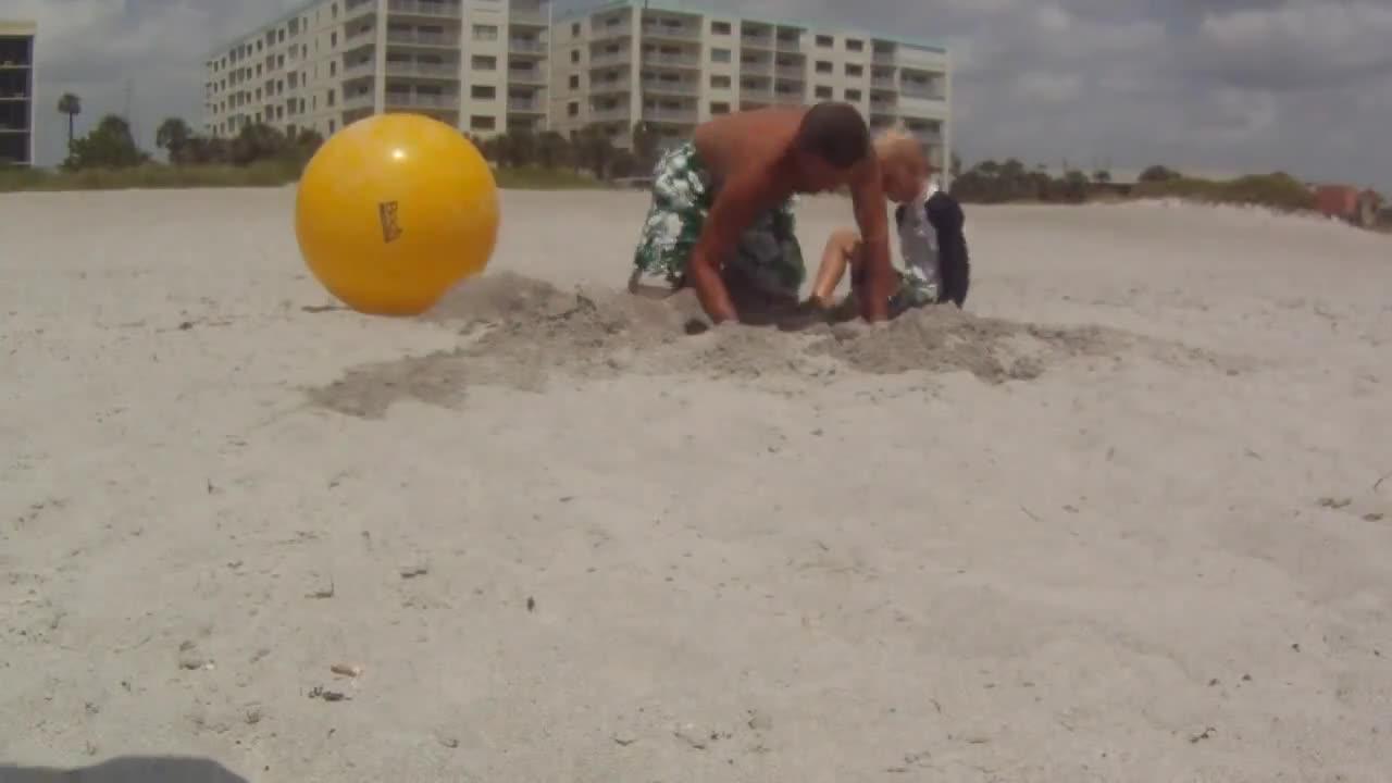 Flip Ball Beach Challenge #30a