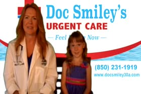 Business Spotlight : Doc Smiley Urgent Care on 30a