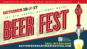 Beerfest at Baytowne Wharf October 16-17