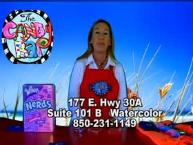 Business Spotlight : Candy Bar in Watercolor