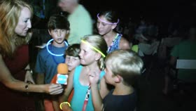 Kids enjoying Easy on 30a Concert