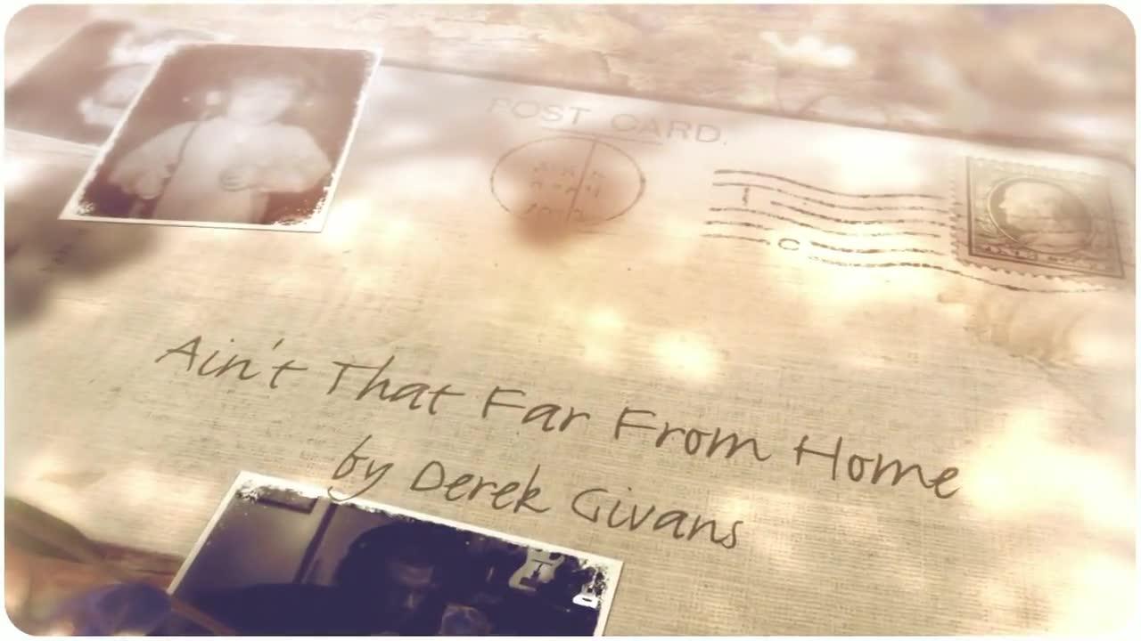 Derek Givans Ain't That Far From Home 30a Songwriter Radio