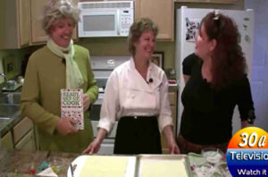Pt1 Allison Porter Cooks Salmon The 3 Julias  30a TV