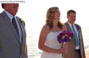 30a Santa Rosa Beach Wedding Amazing !