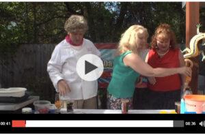 Pt 2 Shrimp on Rosemary Skewers The 3 Julias #juliachild