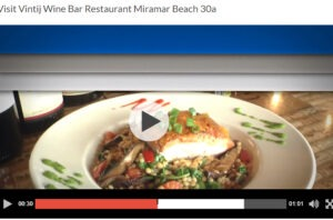 Visit Vintij Wine Bar Restaurant Miramar Beach 30a – Commercial