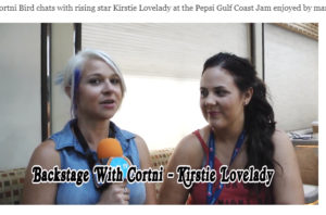 Backstage With Cortni Gulf Coast Jam Kirstie Lovelady
