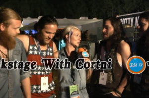 Backstage With Cortni Gulf Coast Jam Them Dirty Roses