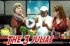 3 Julias Cooking Show with Bill Pendlelton Peace Love Pops