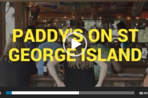 Paddys Bar on St George Island Near Apalachicola