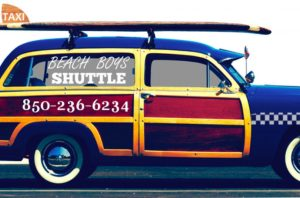 Beach Boys Shuttle Taxi and Limo 850-234-6234 9007 Front Beach Road