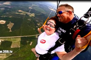 SKYDIVE NW Florida Fantastic Tandem Sky dive