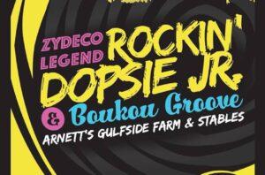 Rockin Dopsie Jr + Boukou Groove at Arnett's Gulfside