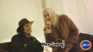 Max Gomez Backstage with Cortni at 30a Songwriters Festival #30afest