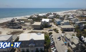 Arial Tour of Grayton Beach and Eden Gardens Florida