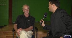 SIDEWALKS host Richard R. Lee interviews actor Jack Stauffer