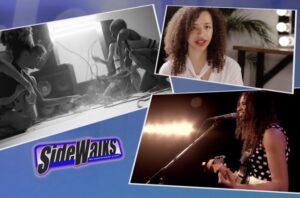 SIDEWALKS  Elle Garcia interviews singer  musician Jackie Venson