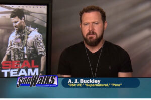 Celebrity Interview – AJ Buckley  as Sonny Quinn in CBS SEAL Team.