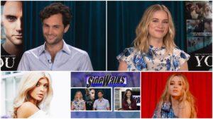 SIDEWALKS Veronica Castro Episode 863 – Elizabeth Lail and Penn Badgley