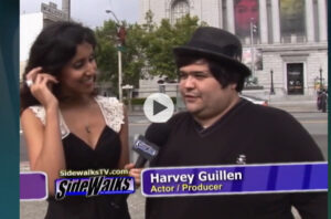 Sidewalks TV Celebrity Interview  A Look Back – Harvey Guillen