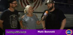 Backstage with Cortni – Matt Bennett  at Gulf Coast Jam Pepsi