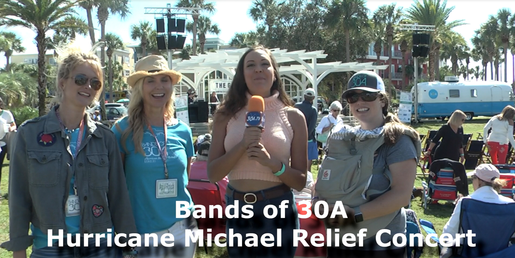 Bands of 30A Hurricane Michael Relief Concert at Gulf Place Ampitheater