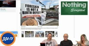 Nothing Scripted Uranus Edition – Circumcision Protest Destin Commons