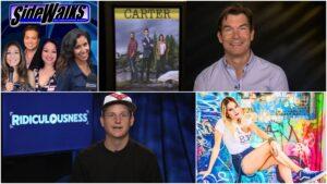 SIDEWALKS TV host Lori Rosales interviews MTV host Rob Dyrdek