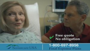 SeniorCare USA Final Expenses Plan Commercial When The Time Comes Call 800 697 8956