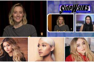 Sidewalks TV Oscar®-nominated actress Saoirse Ronan interview