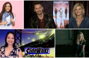 SIDEWALKS TV host Lori Rosales interviews Eliza Coupe and Derek Wilson