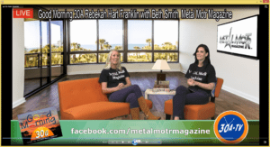 Good Morning 30A Rebekah Hart Franklin with Beth Smith  Metal Motr Magazine