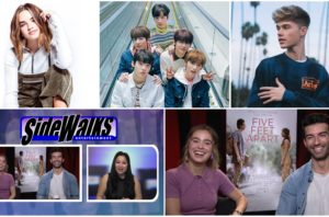 SIDEWALKS on 30A TV host Lori Rosales interviews Five Feet Apart star Haley Lu Richardson