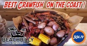 BeachBilly Lifestyle show on 30ATV  – Cubs Crawfish