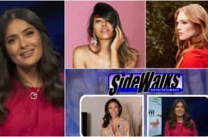 SIDEWALKS on 30ATV host Sonia Lowe talks to actress Salma Hayek