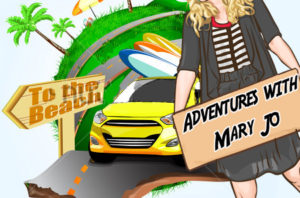 Adventures with Mary Jo The Short Show – Slide the City