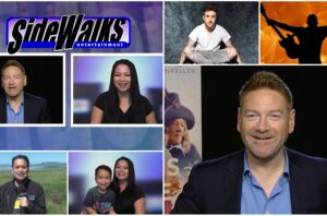 SIDEWALKS on 30ATV host Lori Rosales talks to actor  director Kenneth Branagh