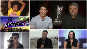 SIDEWALKS on 30ATV  host Lori Rosales interviews George Lopez and Raul Castillo