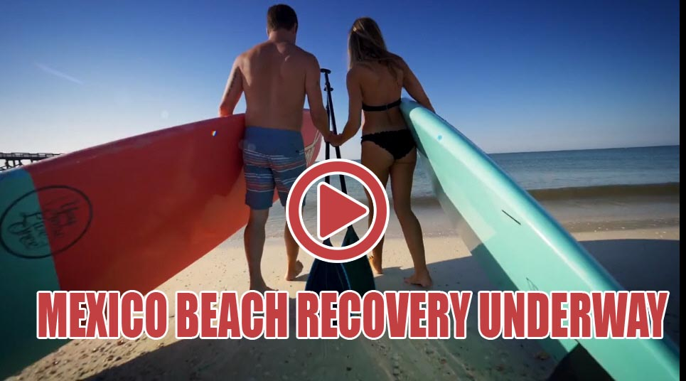 Mexico Beach's Recovery and Clean Up Efforts Moving Forward
