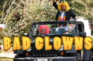 Antitexting video featuring Bad Clowns behaving badly on the road