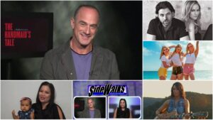 SIDEWALKS on 30ATV actor Christopher Meloni -Law and Order
