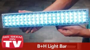 Hurricane or Power Outage Essential  LED Lightbar by Bell and Howell