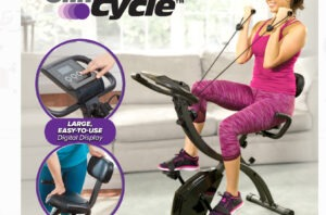 Slim Cycle Breakthrough Fitness Bike Gives You 2x Results in Half The Time COMMERCIAL