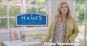 Hanks Fine Furniture Trisha Yearwood Fall collection